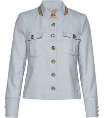 selby twiggy jacket blazers casual blazers blå mos mosh