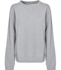 maison margiela rear logo oversized sweatshirt