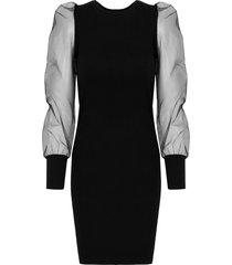 jurk tule deluxe zwart
