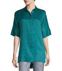 andra hi-lo tunic blouse