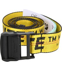 off-white off white classic industrial short belt