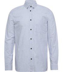 akrilou shirt skjorta casual blå anerkjendt
