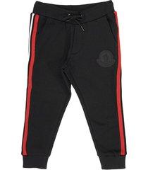 moncler casual trouser black