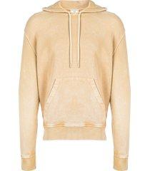 ami vintage washed hoodie - neutrals