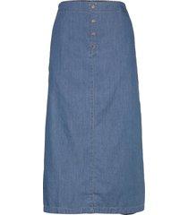 sabina knälång kjol blå masai
