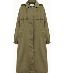 american vintage trench holly in cotone impermeabile