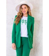 blazer bright green
