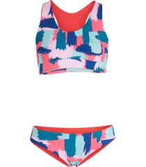 bikini a bustier double face (set 2 pezzi) (fucsia) - bpc bonprix collection