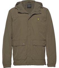 hooded pocket jacket dun jack groen lyle & scott
