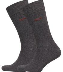 2p rs uni cc underwear socks regular socks grå hugo
