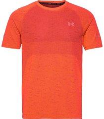 ua vanish seamless run ss t-shirts short-sleeved röd under armour