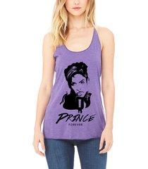fashion womens sexy prince shirt rip forever tank top shirt purple rain fan