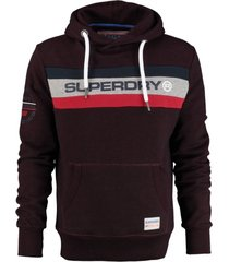 superdry sweater hoodie bright berry grit