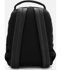 armani exchange men's metal ax logo backpack - black
