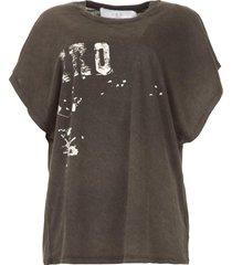 oversized t-shirt gruncy  zwart