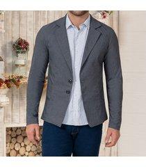 blazer adrian gris para hombre croydon