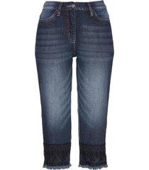 jeans capri (blu) - bpc selection