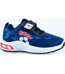zapatilla azul footy gol funny store