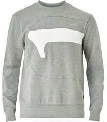sweatshirt hamburger logo r sw l/s