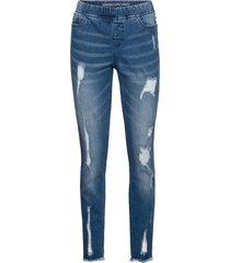 jeans super skinny (blu) - rainbow