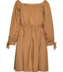 day cinnamon korte jurk beige day birger et mikkelsen