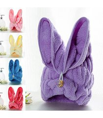 korean-coral-cashmere-dry-hair-hat-super-absorbent-towel-dry-hair-cute-rabbit-ea