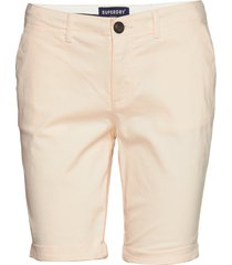 city chino short bermudashorts shorts beige superdry