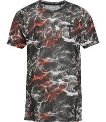 vent mesh ss tee m t-shirts short-sleeved multi/mönstrad craft