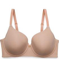 natori chic comfort bra, t-shirt bra, women's, beige, size 36dd natori
