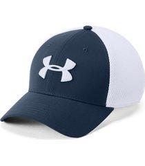 gorra para hombre under armour 1305017-408 - azul