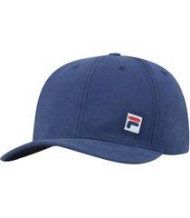 boné aba curva fila icon - strapback - adulto - azul escuro