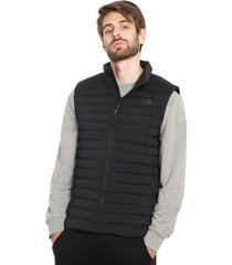 parka the north face stretch down vest negro - calce slim fit