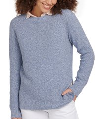 barbour shoreline cotton knit top