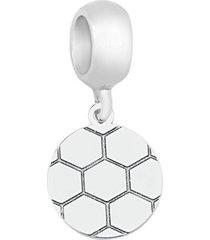 berloque joia em casa bola de prata prata