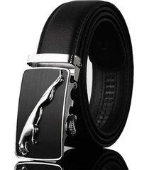 cinturón hombre lujo hebilla automatica wide 125cm ab