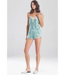 natori lolita tap shorts, women's, 100% silk, size m