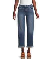 joe's jeans women's straight leg jeans - vaquero - size 24 (0)