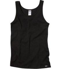 mouwloos shirt van bio-katoen, zwart s