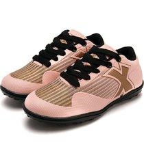 tenis 5 rosa*dorado tellenzi 168j