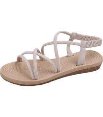 tirantes suaves para mujer con sandalias planas