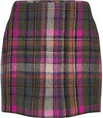 agathe skirt 12897 kort kjol rosa samsøe samsøe