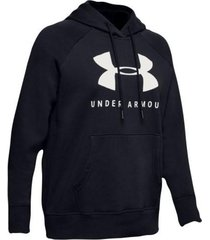 buzo under armour rival fleece graphic mujer