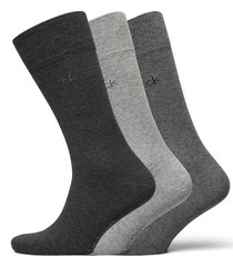 ck 3pk eric cotton 003 underwear socks regular socks multi/mönstrad calvin klein