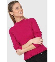 sweater fucsia asterisco seatle