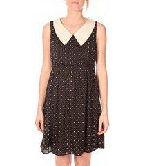 korte jurk vero moda robe calantha 10075317 noir