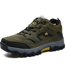 uomini di grandi dimensioni warm fodera di peluche outdoor sneakers da escursionismo antiscivolo