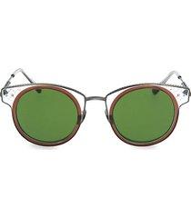 novelty 46mm round sunglasses