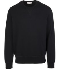 alexander mcqueen man black sweatshirt with mcqueen graffiti insert