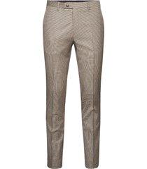 1835 - craig normal kostuumbroek formele broek beige sand