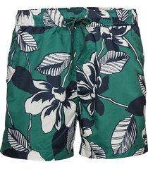 mason swim shorts aop 6956 badshorts grön samsøe samsøe